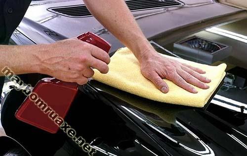 Phương pháp rửa xe không cần sử dụng nước
