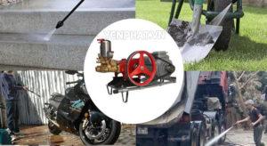 Máy rửa xe Đài Loan có nhiều công dụng ưu việt