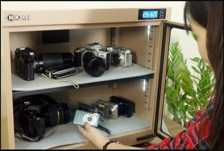 Phân loại tủ chống ẩm cho máy ảnh