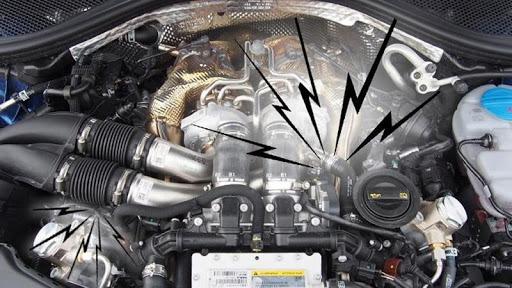 Động cơ ô tô phát ra những âm thanh lạ