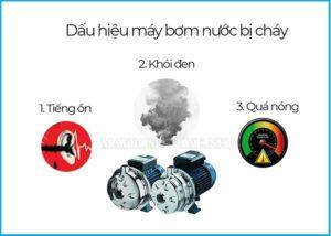 Máy bơm bị chập cháy có thể ảnh hưởng đến nguồn điện chung
