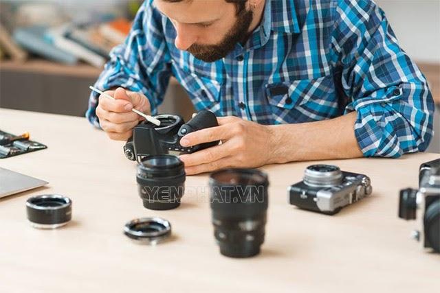 Một số lưu ý khi bảo quản máy ảnh