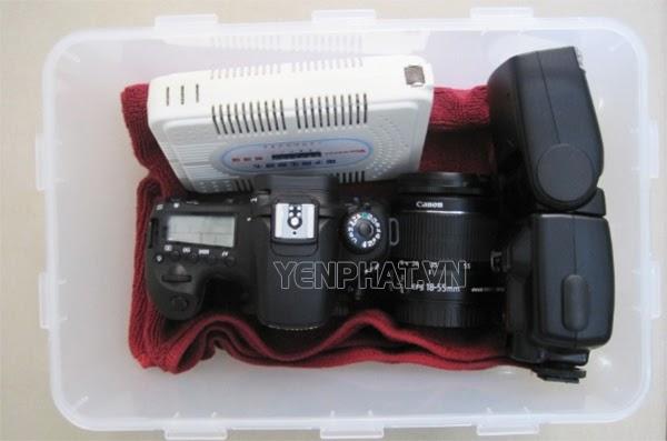 Hướng dẫn sử dụng máy hút ẩm máy ảnh chính xác nhất