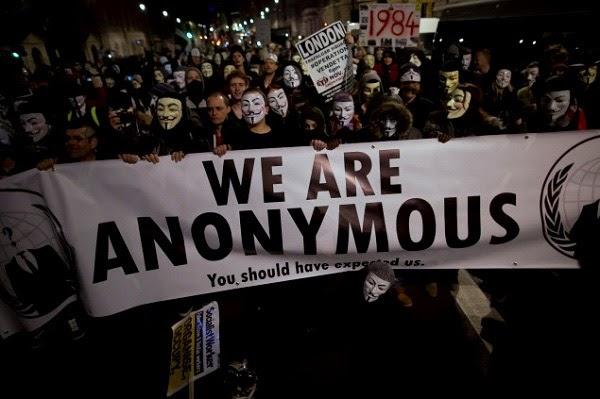 Những điều về Anonymous đều là bí ẩn không ai biết