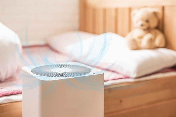 Khử mùi ẩm mốc trong phòng ngủ bằng máy hút ẩm