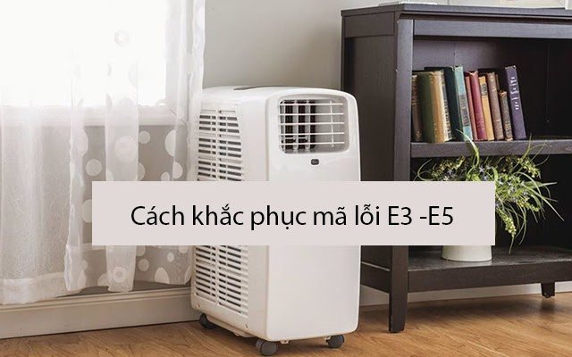 máy hút ẩm báo lỗi E3 - E5