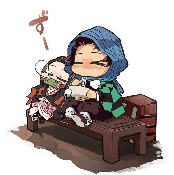 Một số hình ảnh Nezuko-chan meme đáng yêu