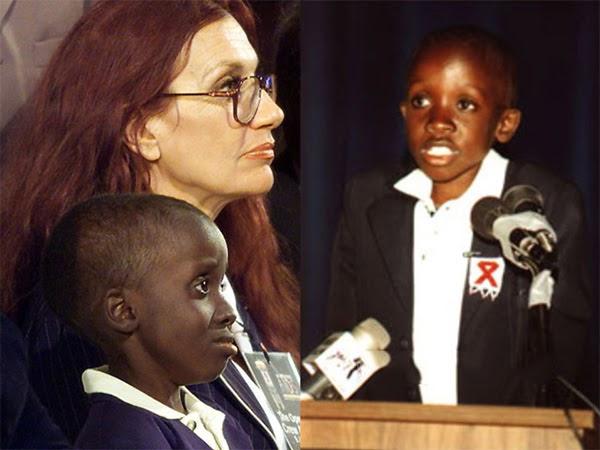 Cuộc đấu tranh đi học của Nkosi Johnson