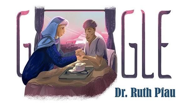Google Doodle vinh danh người bác sĩ vĩ đại Ruth Pfau