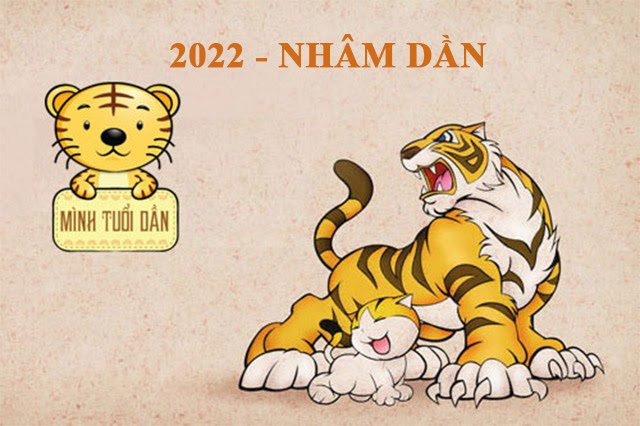 Năm 2022 là năm con gì, mệnh gì