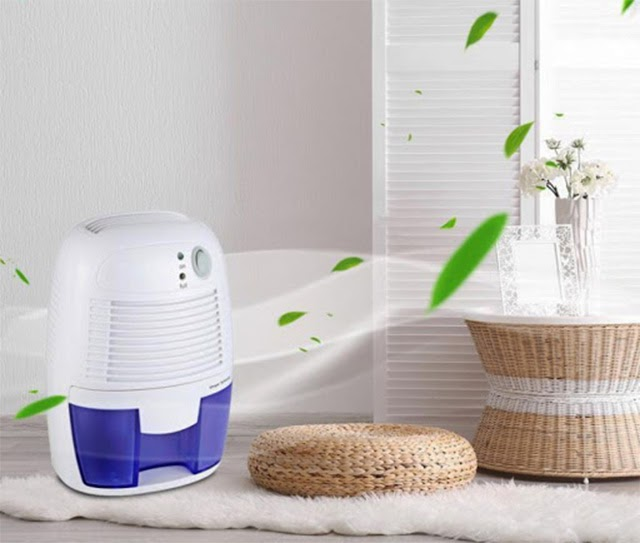 Sử dụng máy hút ẩm để sấy khô không gian sống